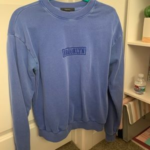 Forever 21 Blue Sweater Brooklyn